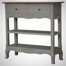 Painted Console Table Painted Style Two Drawer Console Table
