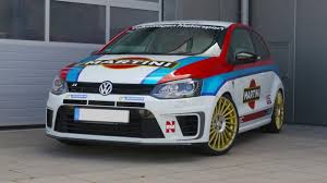 martini design vw polo wrc 6r martini design with etabeta wheels tuningblog eu
