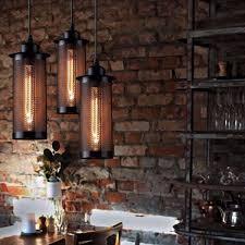 Esszimmer Deckenleuchte Vintage Lampenschirm Metall Mesh Netz Deckenleuchte E27 Hängen