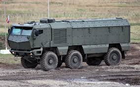 mrap kamaz 63968 typhoon russian multi functional modular armoured
