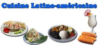 cuisine latine la cuisine autres pays