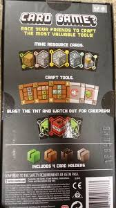 brother got a minecraft card game for thanksgiving early christmas