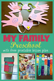 My Family Writing Practice Lesson Plan Education The 25 Best Family Preschool Themes Ideas On