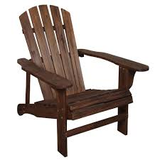 Wood Outdoor Chairs Charred Wood Patio Adirondack Chair Tx 94056 The Home Depot