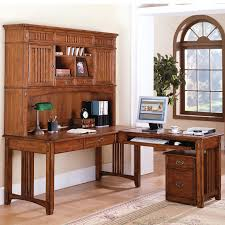 Desk With Computer Storage Furniture Wonderful L Shaped Computer Desk With Hutch For Home