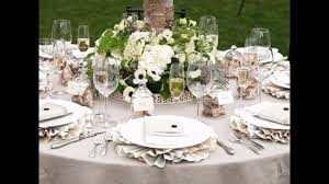 wedding centerpieces for round tables simple wedding table decorations ideas youtube