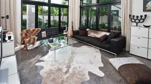 Cowhide Home Decor by Decor Make Your Floor More Cozy With Charming Cow Skin Rug For