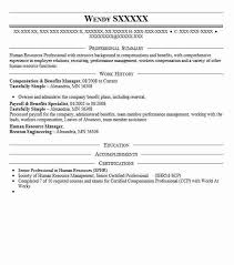 Benefits Specialist Resume Sample by Best Compensation And Benefits Resume Example Livecareer