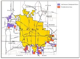 of akron map jedd districts city of akron