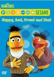 sesame play with me sesame happy sad proud and mad dvd