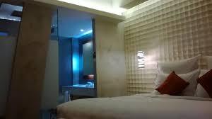 Open Bathroom Concept one night break in a contemporary design hotel pullman jakarta