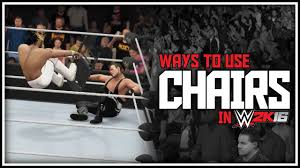 Joe Boxer Chair Wwe 2k16 Extreme Ways To Use A Chair Best Things To Do With
