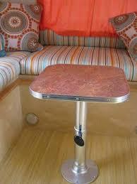 rv table pedestal adjustable 219 best airstream refurb images on pinterest airstream cer