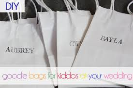 wedding goodie bags diy goodie bags for kids at weddings oh lovely day