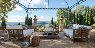 table de jardin haut de gamme meubles design de jardin et terrasse unopiù