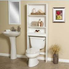 Medicine Cabinet Storage Small Bathroom Shelving Ideas Wooden Sturdy Ladder Style Shelving