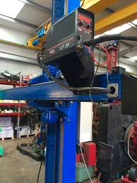 lincoln electric cv 500 i and lincoln electric lf38 wire feeder