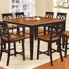 Counter Height Dining Room Furniture Furniture Of America Betsy Joan Two Tone Counter Height Dining