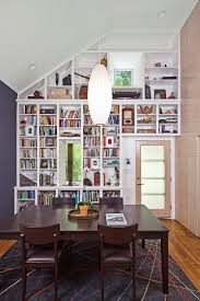 bookshelves in dining room sophisticated bookcase in dining room photos ideas house design