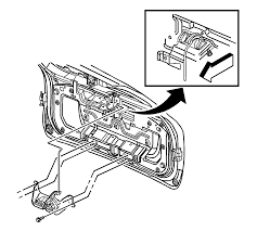 repair instructions liftgate outside handle replacement 2005