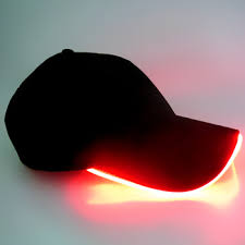 hats with lights built in promotion wholesale custom bright led lighted cap and hat baseball