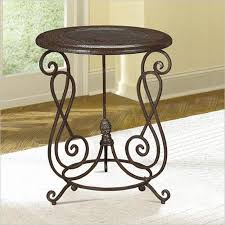 small round accent table captivating round metal accent table threshold round metal lattice