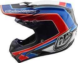 motocross helmet designs 2018 troy lee designs se4 carbon squadra helmet motocross