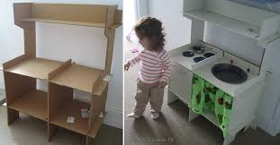 childrens wooden kitchen furniture diy cardboard kitchen for i d make it out of wood to last