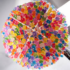 beautiful gummy bear chandelier with additional budget home