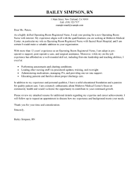 wonderful registered nurse cover letter 2 best examples cv