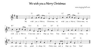 we wish you a merry free carols