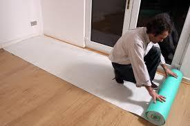 Laminate Floor Protection Temporary Hard Floor Protection Premium Self Adhesive Fleece Wood