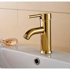 Polished Gold Bathroom Faucets by Riviera Deck Mount Gold Bathroom Sink Faucet Single Handle Mixer Tap