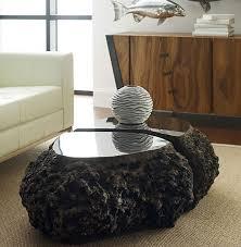 Fabulous Lava Rock Coffee Table Accessorize Pinterest Living - Rock furniture