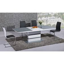 Grey Extendable Dining Table Grey Dining Tables Wayfair Co Uk