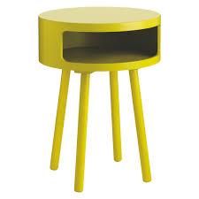 Yellow Side Table Uk Bumble Yellow Side Table With Storage Shelf Buy Now At Habitat Uk