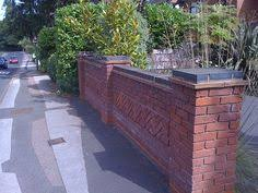 excellent front garden brick wall designs on small home decoration