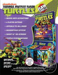 arcade heroes coming iaapa 2017 teenage mutant ninja turtles