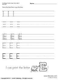 preschool letters worksheets letter idea 2018