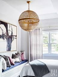 Bedroom Chandelier Lighting Chandeliers For Bedrooms Better Homes And Gardens Bhg