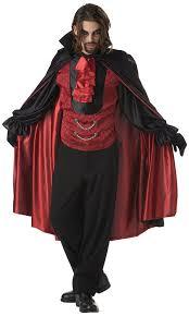 halloween vampire costumes amazon com california costumes men u0027s count blood thirst costume