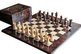 buy italian prestige walnut leningrad chess set at official