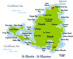 map of st martin st martin travel guide st maarten travel guide photo gallery