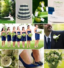 Spring Fling} A Palette of Lime Green & Navy Blue
