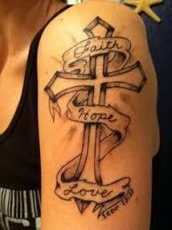 cross tattoos for women feminine cross tattoo by pumibel on