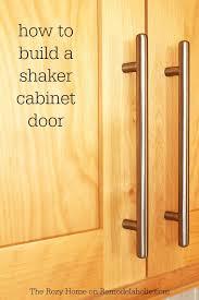 how to build shaker cabinet doors remodelaholic how to make a shaker cabinet door