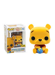 funko disney winnie pooh pop winnie pooh flocked vinyl
