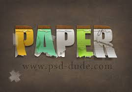 pattern newspaper photoshop create a paper text in photoshop photoshop tutorial psddude