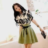cute casual dresses korean naf dresses