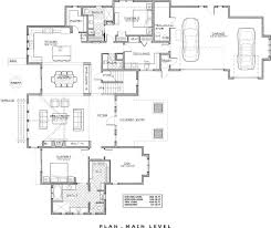 3 story open mountain house floor plan asheville plans living on
